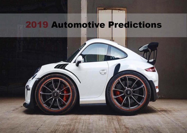 2019 Automotive Predictions - Eric Miltsch