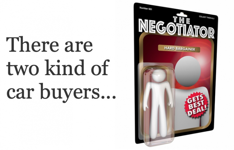 Negotiator figure for BEST CAR DEAL
