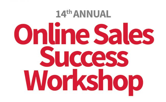 Annual Online Sales Success Workshop