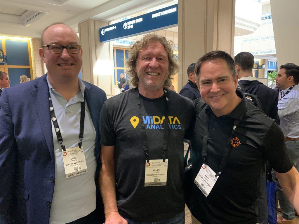 David Marod, Allan Cooper and Dave Vennieri