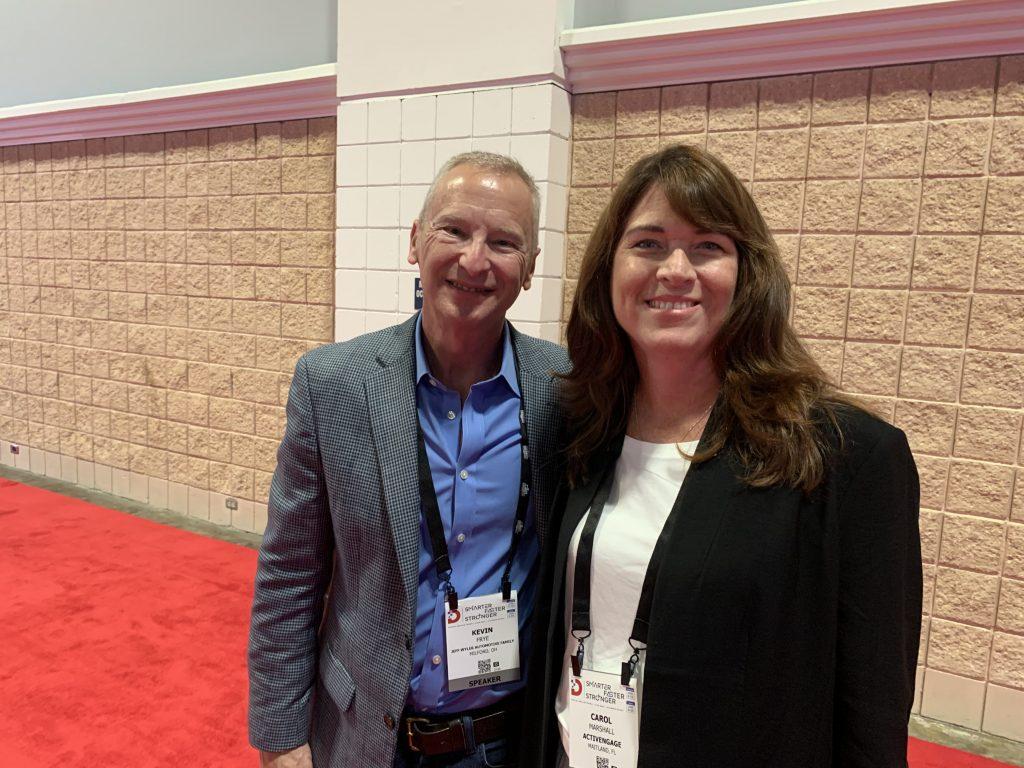 Kevin Frye and Carol Marshall