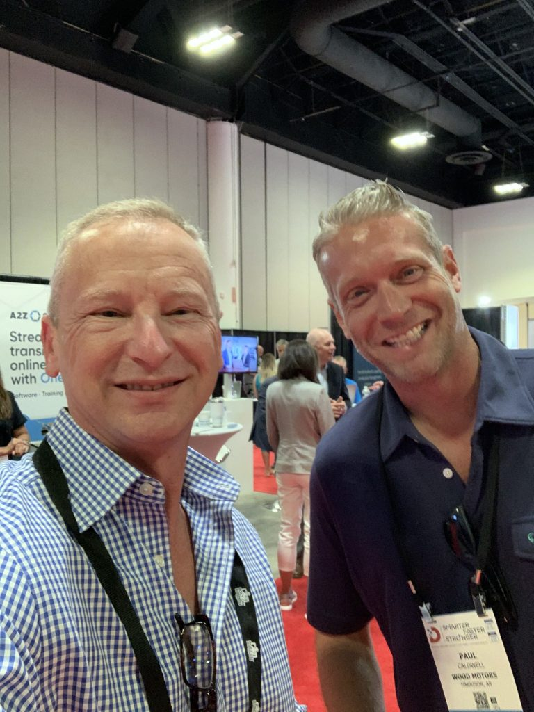 Kevin Frye and Paul Caldwell