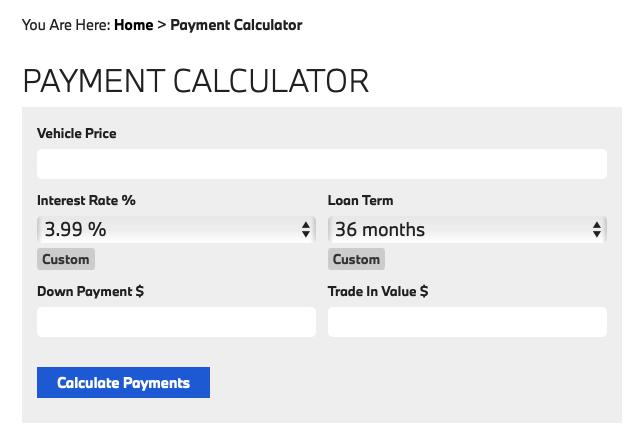 payment calculators should die